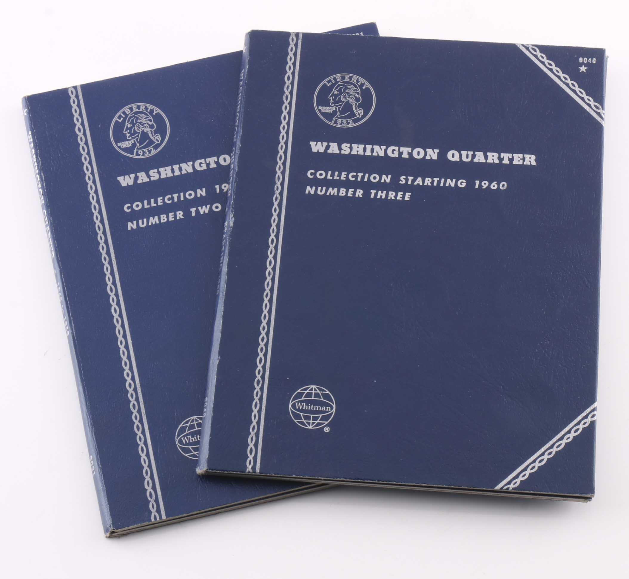 Two Whitman Binders of Washington Quarters