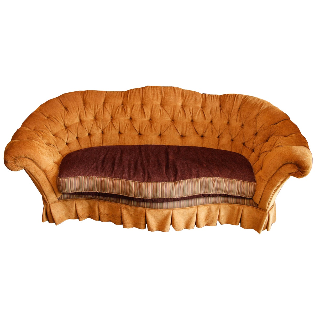 Curved Chesterfield Sofa