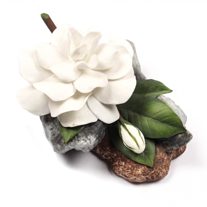 "Boehm Porcelain Flower ""Gardenia"""