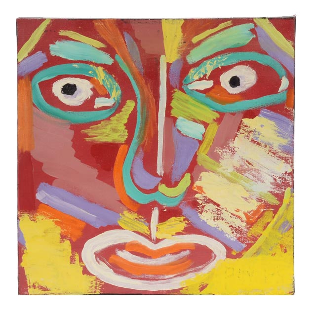 "Phyllis Rinaldi Original Mixed Media Painting on Canvas ""III"""