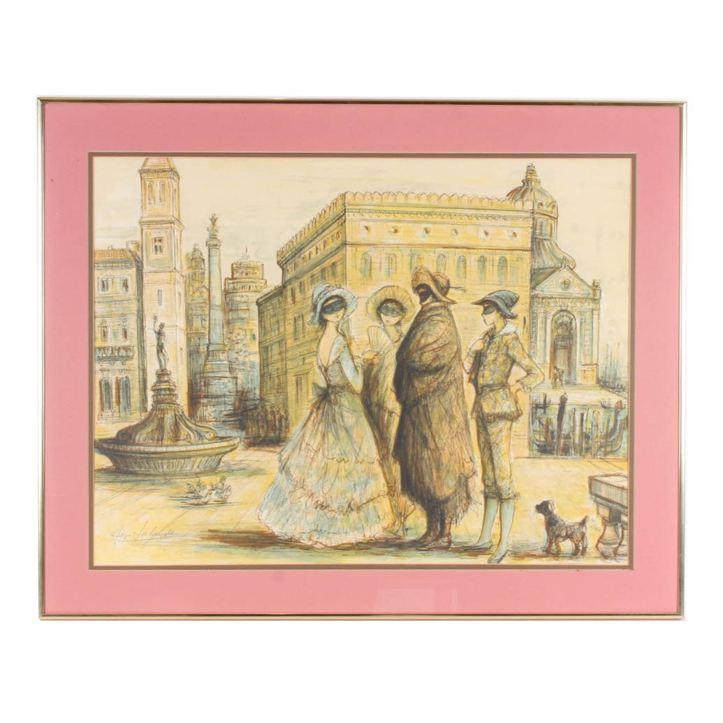 Jacques LaLande Limited Edition Lithograph