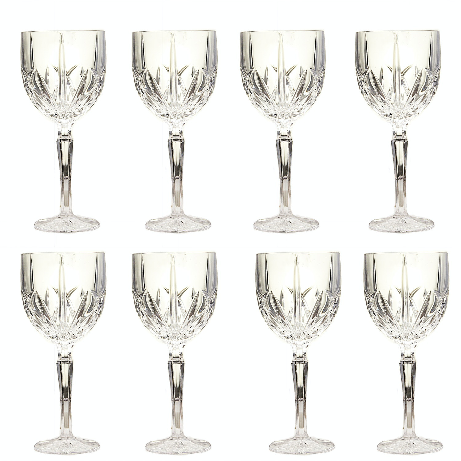 "Marquis by Waterford Crystal ""Brookside"" Wine Glasses"