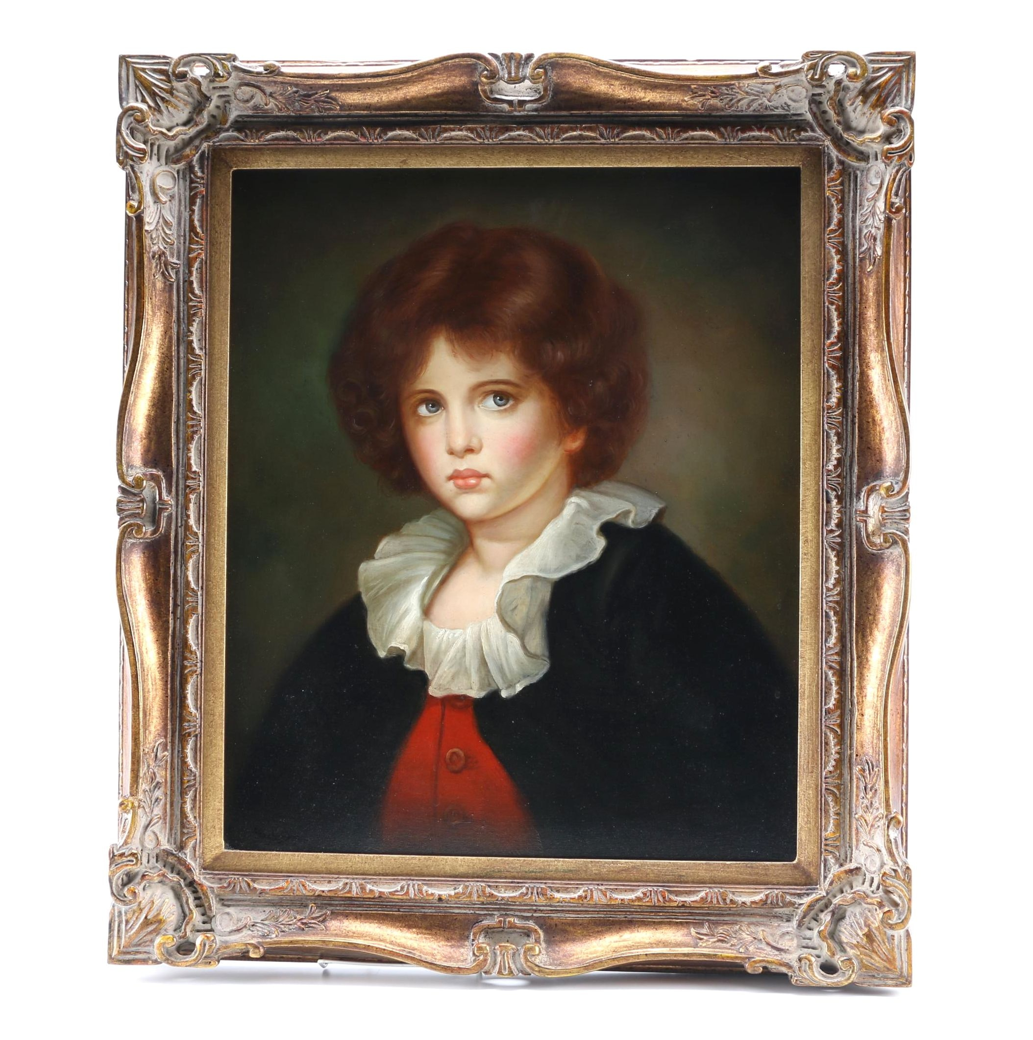 Eagleson Oil Portrait of Young Boy