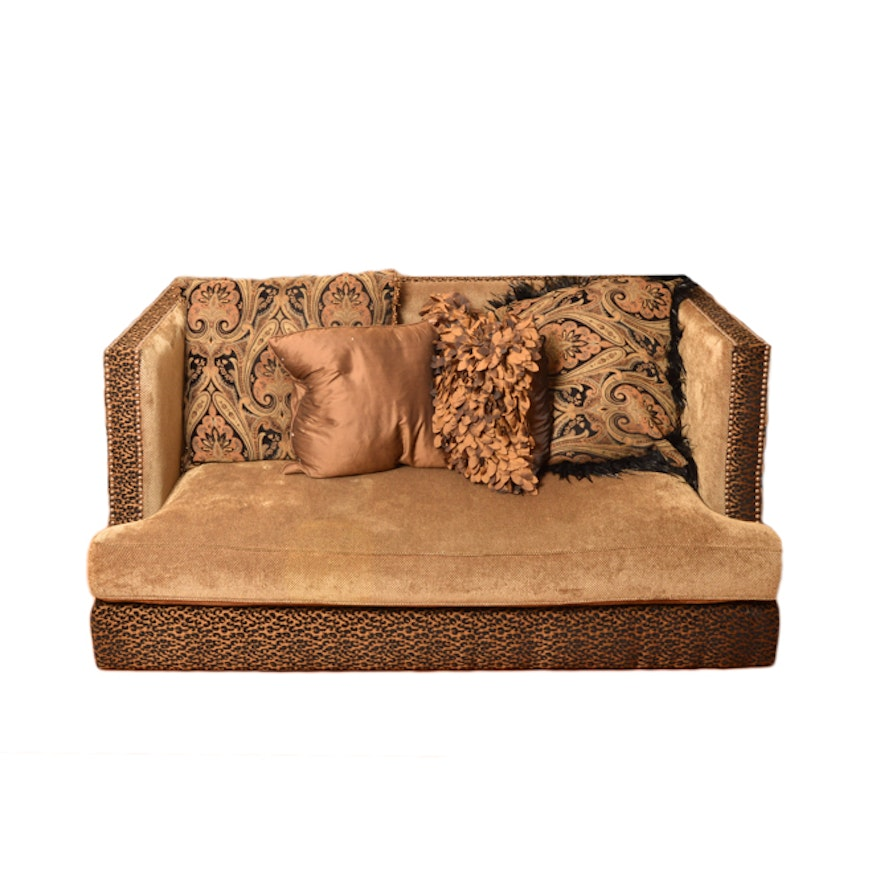 Leopard Print Sofa Sofa Leopard Animal Print Rock Star