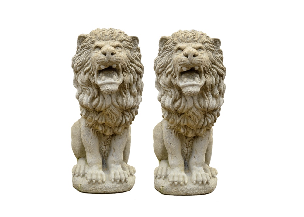 Cement Garden Lions