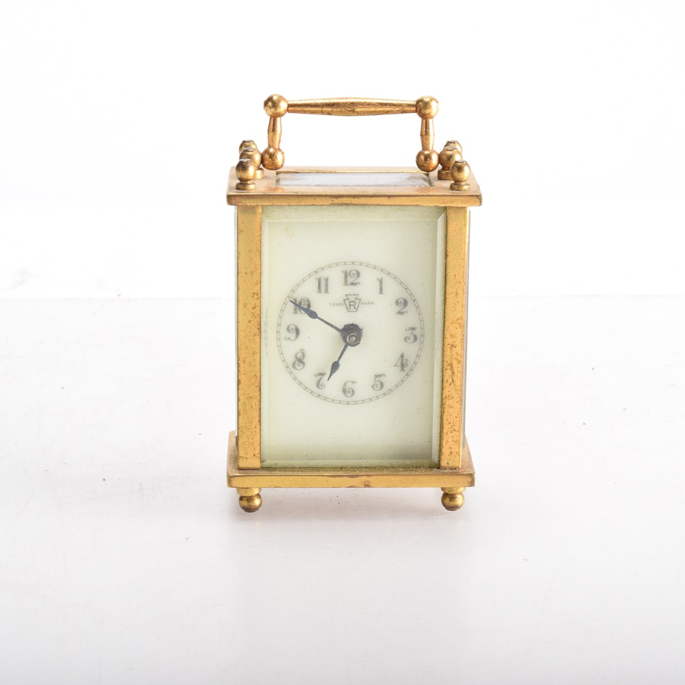 Waterbury Clock Company Antique Carriage Clock