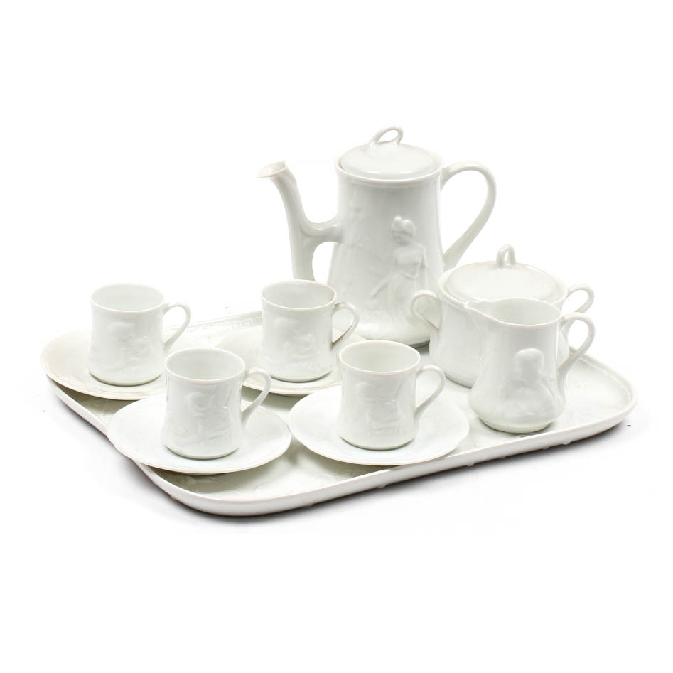 Richard Ginori Porcelain Petite Tea Service