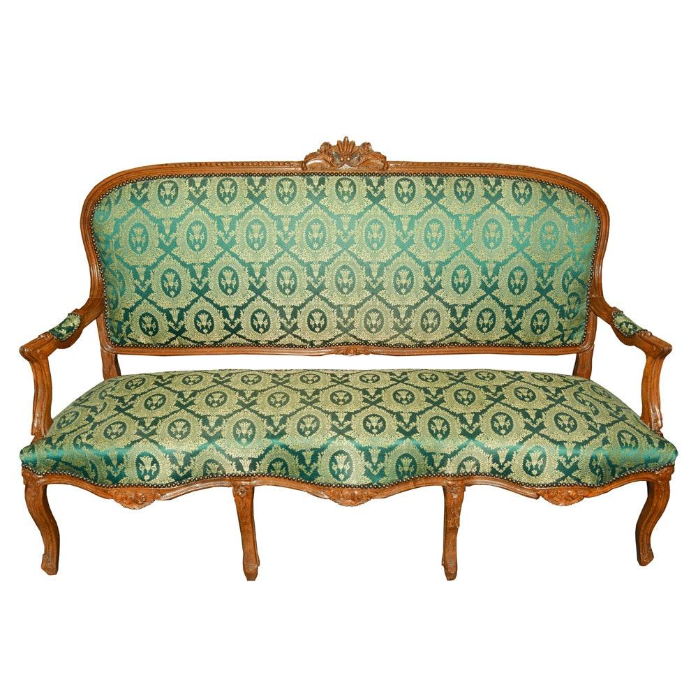 Louis XV Style Canapé Sofa