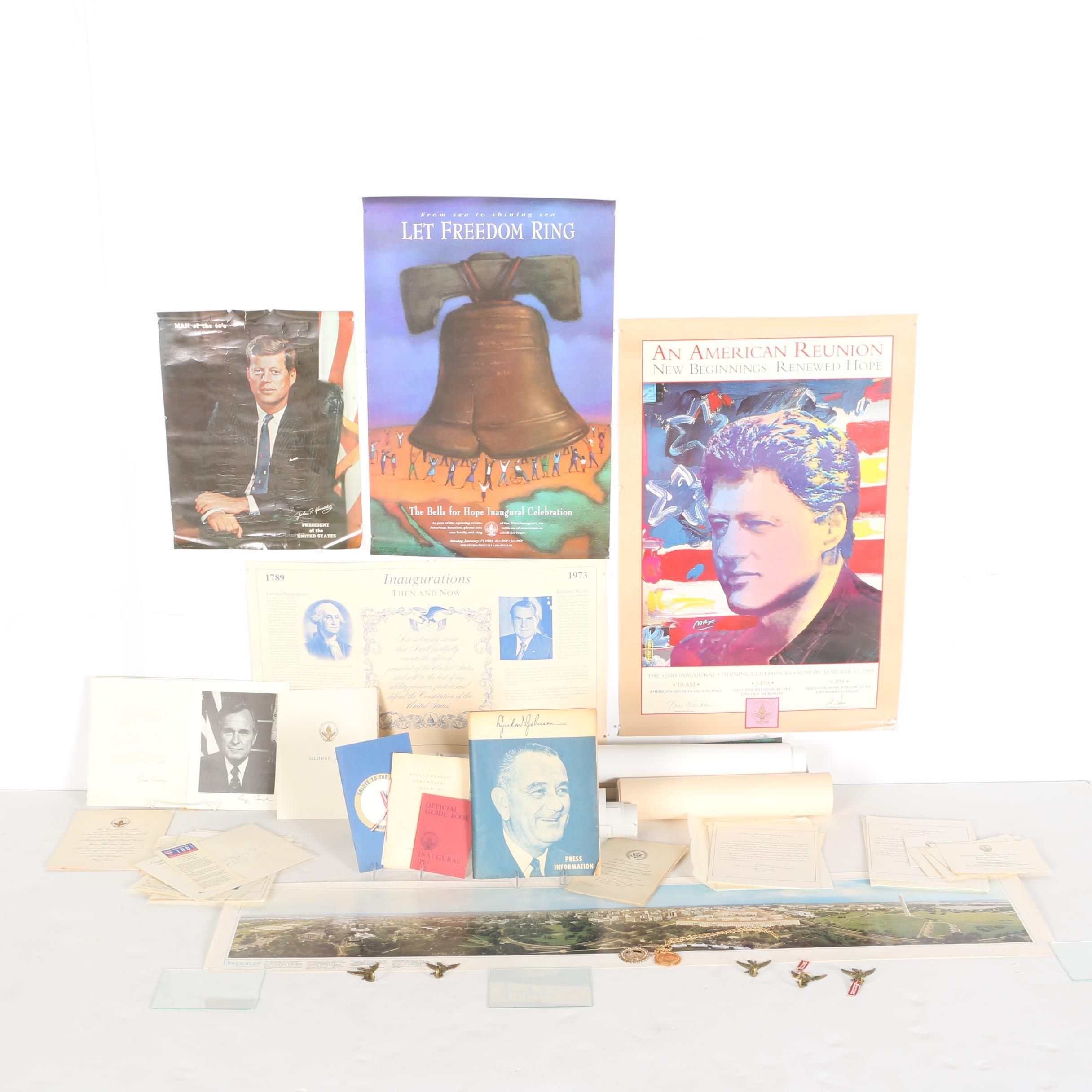 Vintage Lot of Political Memorabilia