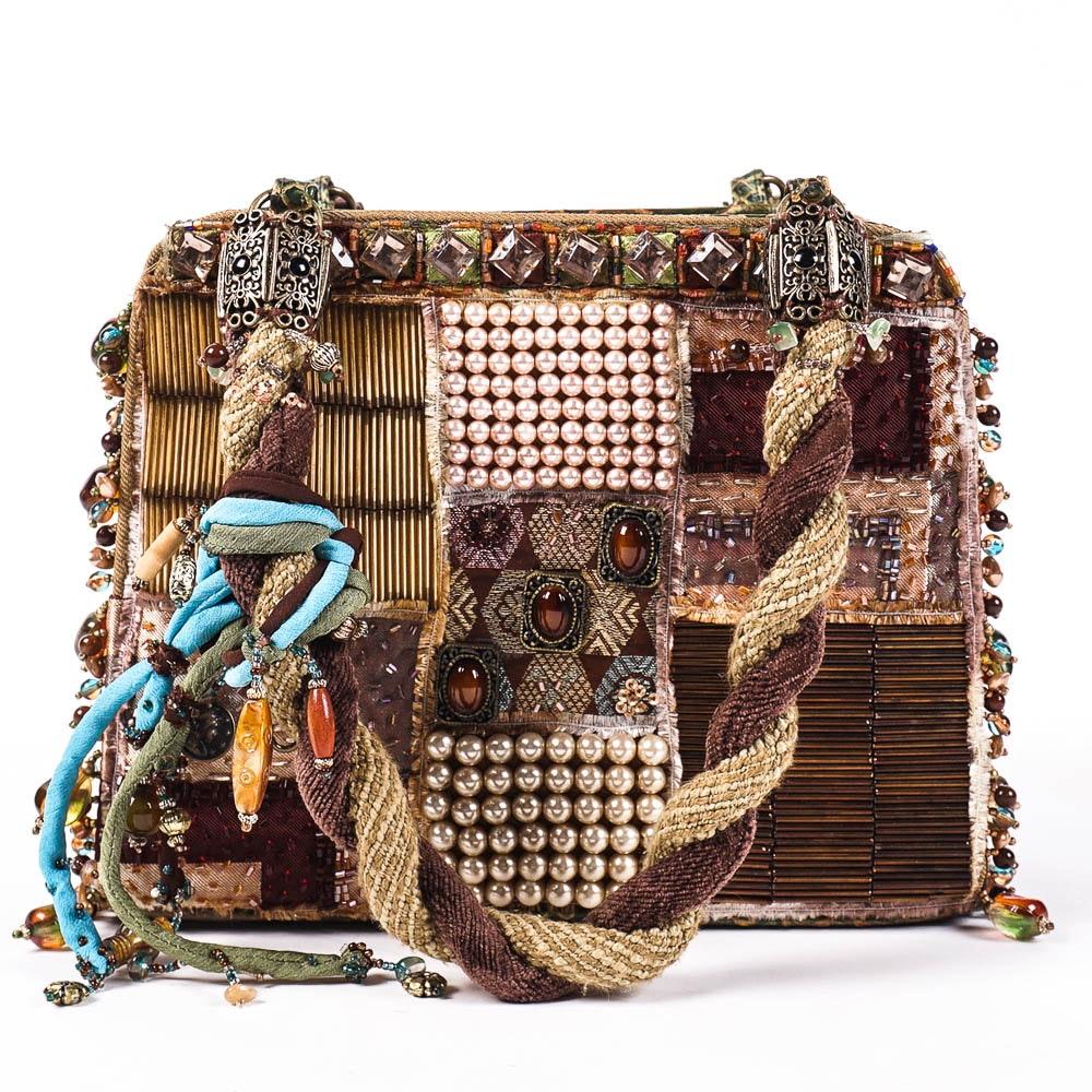 Mary Frances Embellished Handbag