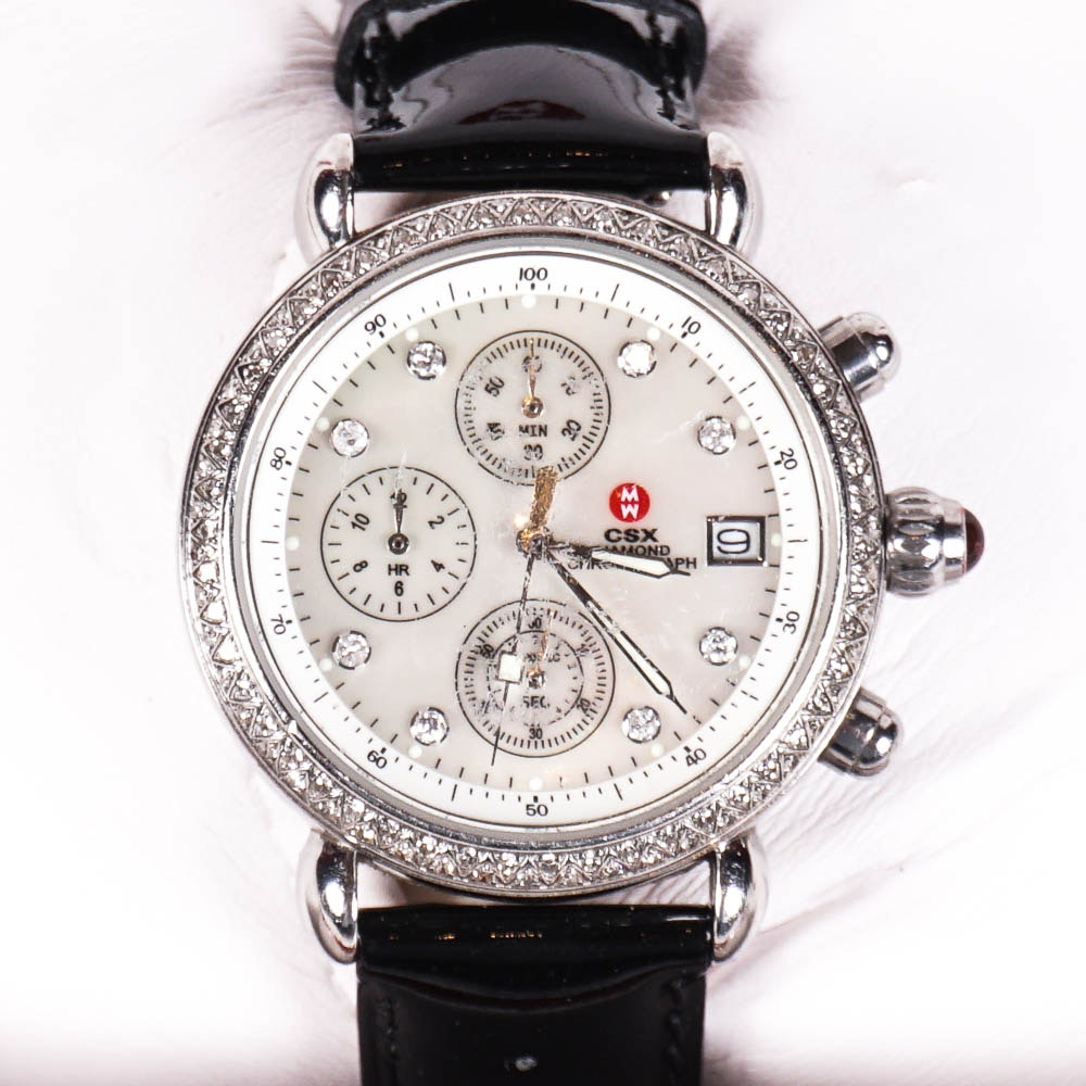 Women's Michele Dimaond Wristwatch