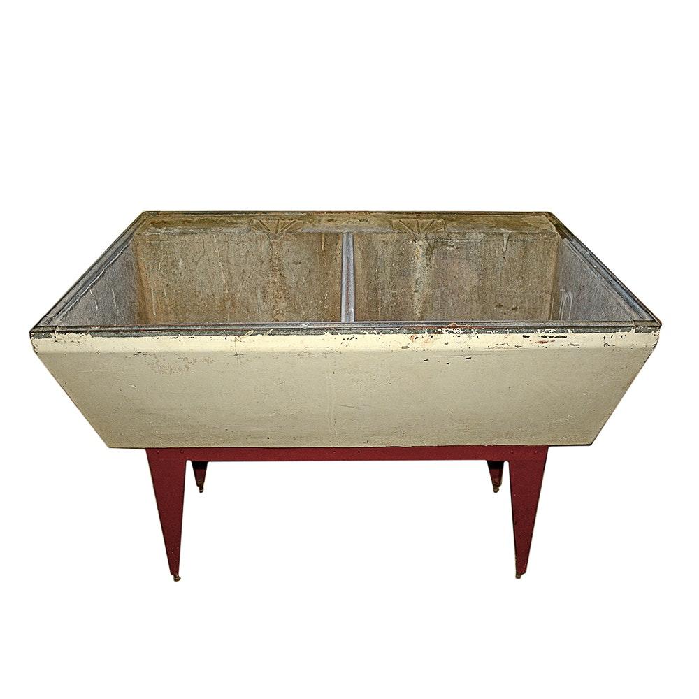 Charmant Vintage Soapstone Utility Sink ...