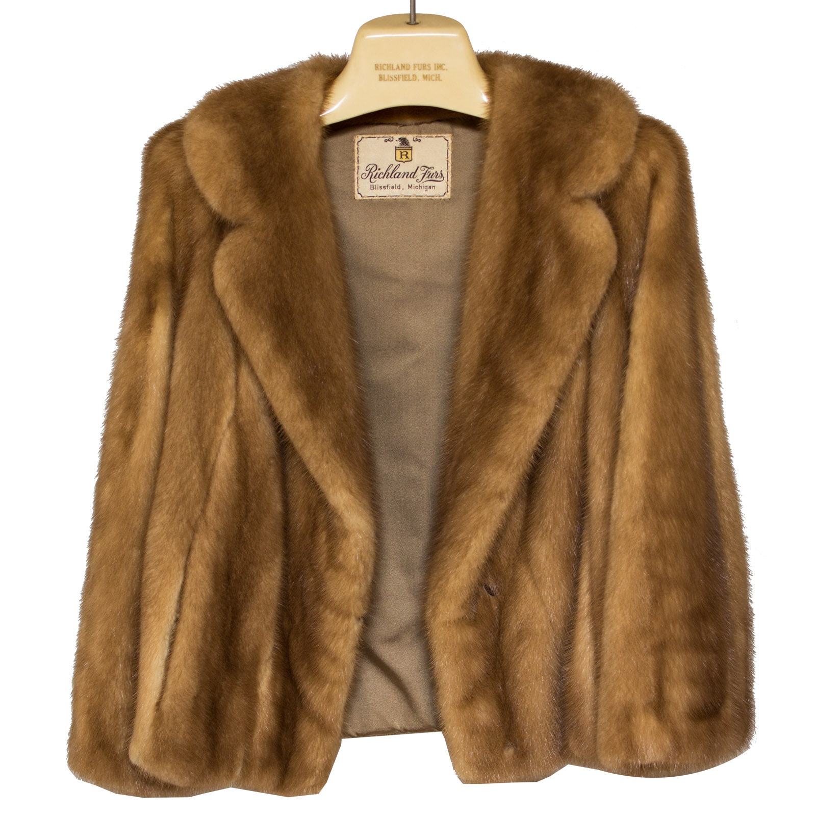 Vintage Mink Fur Coat by Richland Furs : EBTH