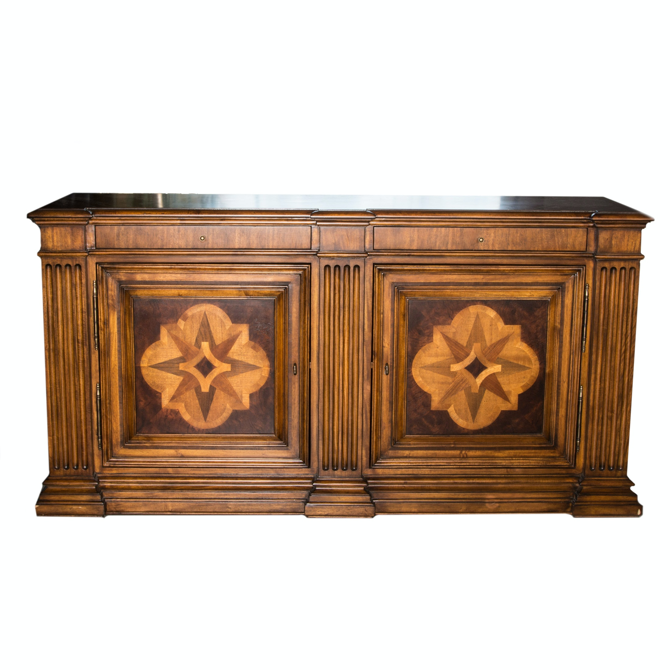 """Ethan Allen """"Lombardy"""" Marquetry Sideboard"""