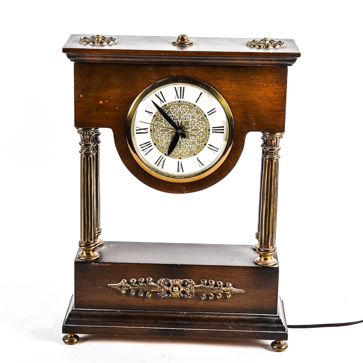 Classical Style Self Starting Mantel Clock