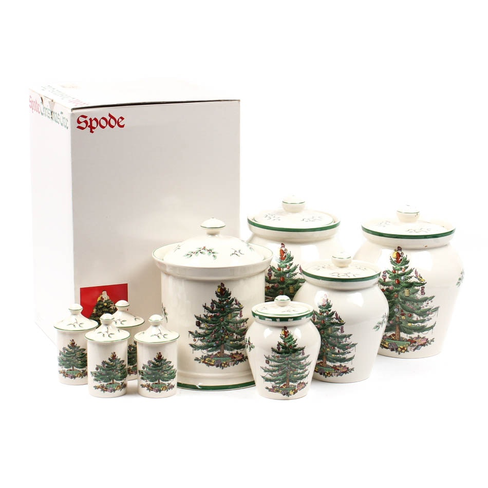 "Spode ""Christams Tree"" China Crocks"