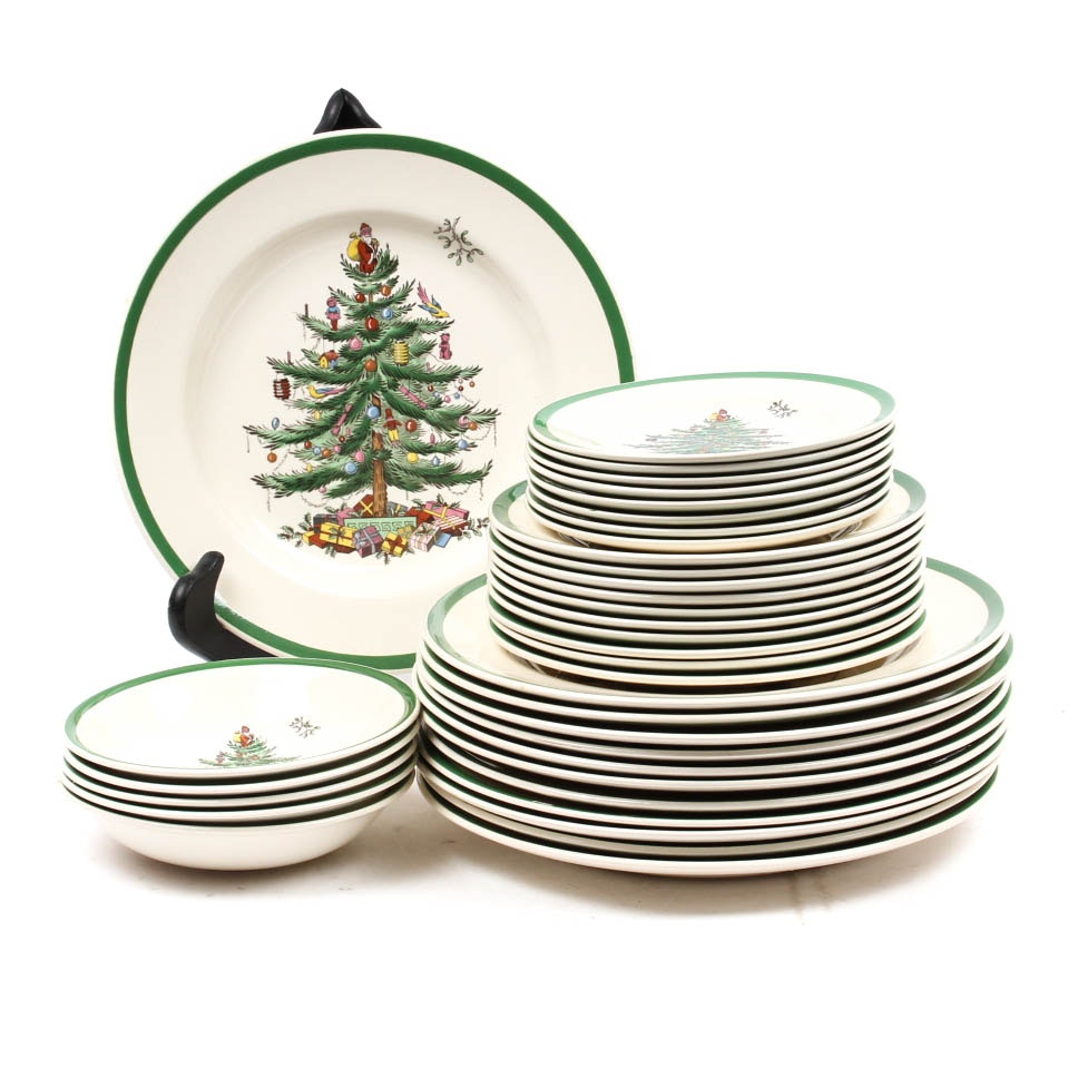"Spode ""Christmas Tree"" China"