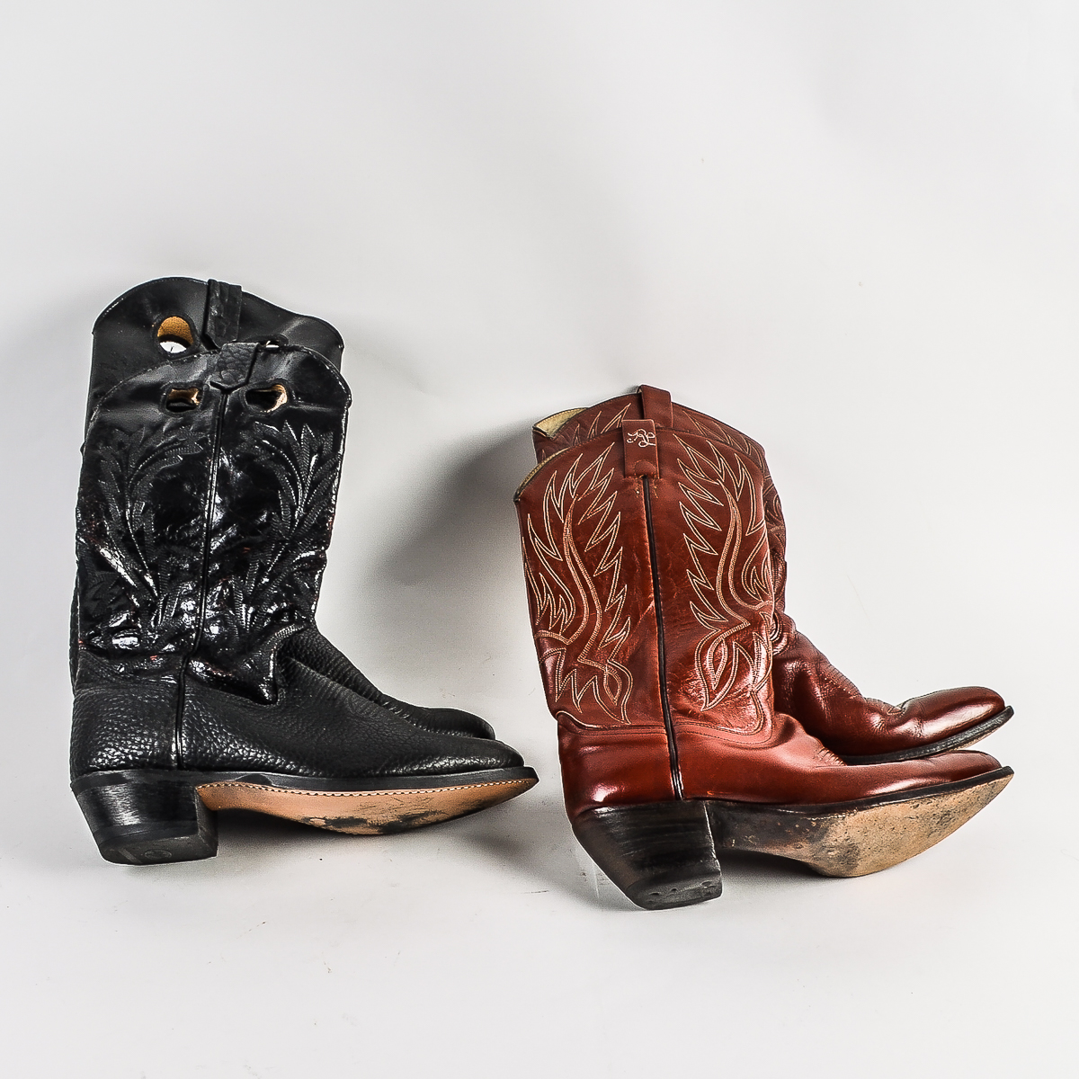 Ralph Leather And Men's Lauren Wrangler Cowboy Boots WH2IDE9