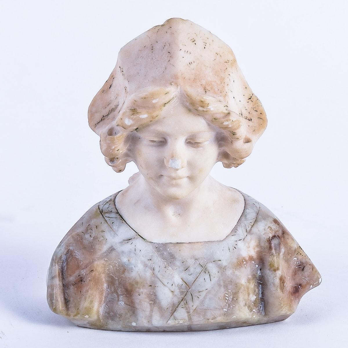 Studio of Sarchez Alabaster Bust
