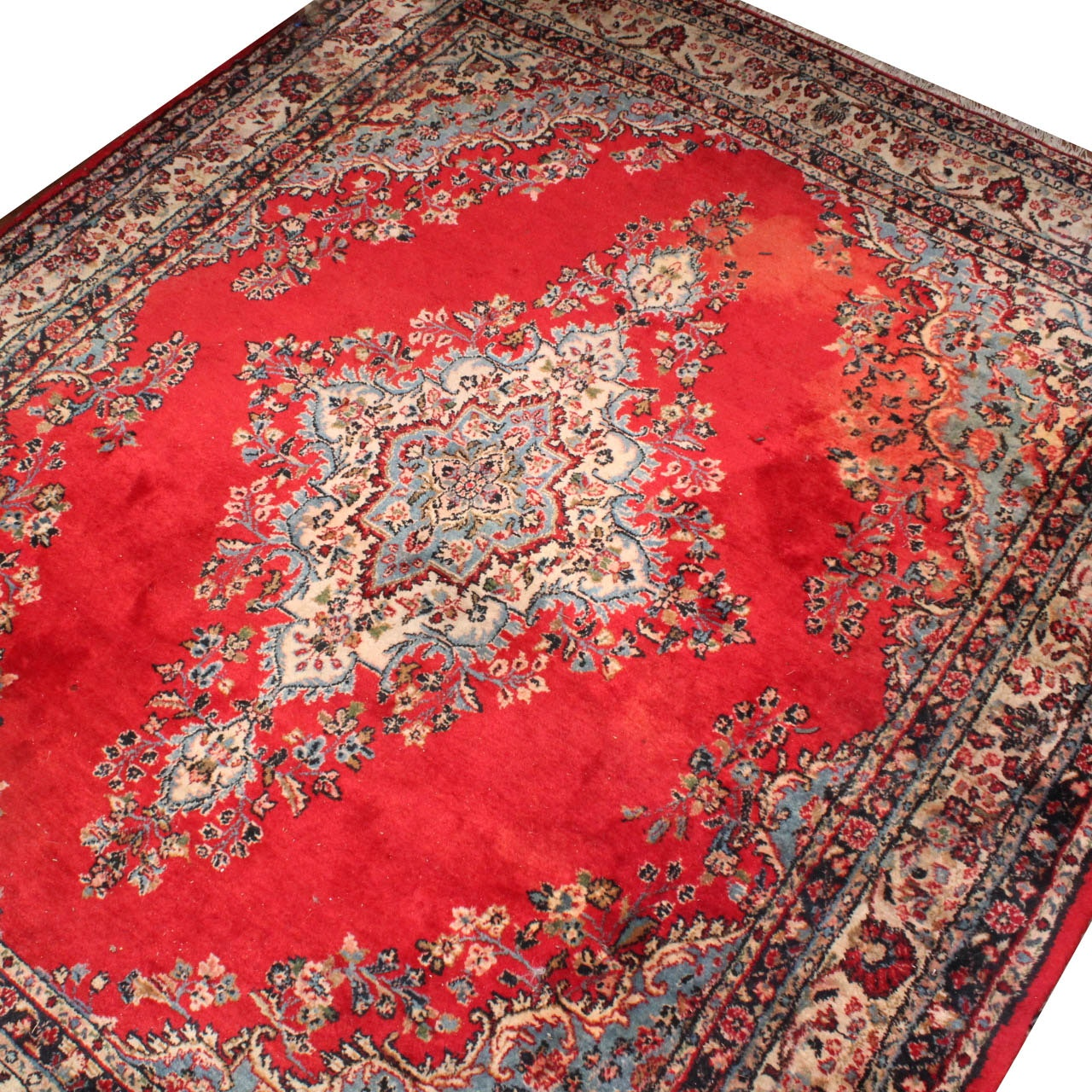 Hand Knotted Indo-Persian Room Size Area Rug