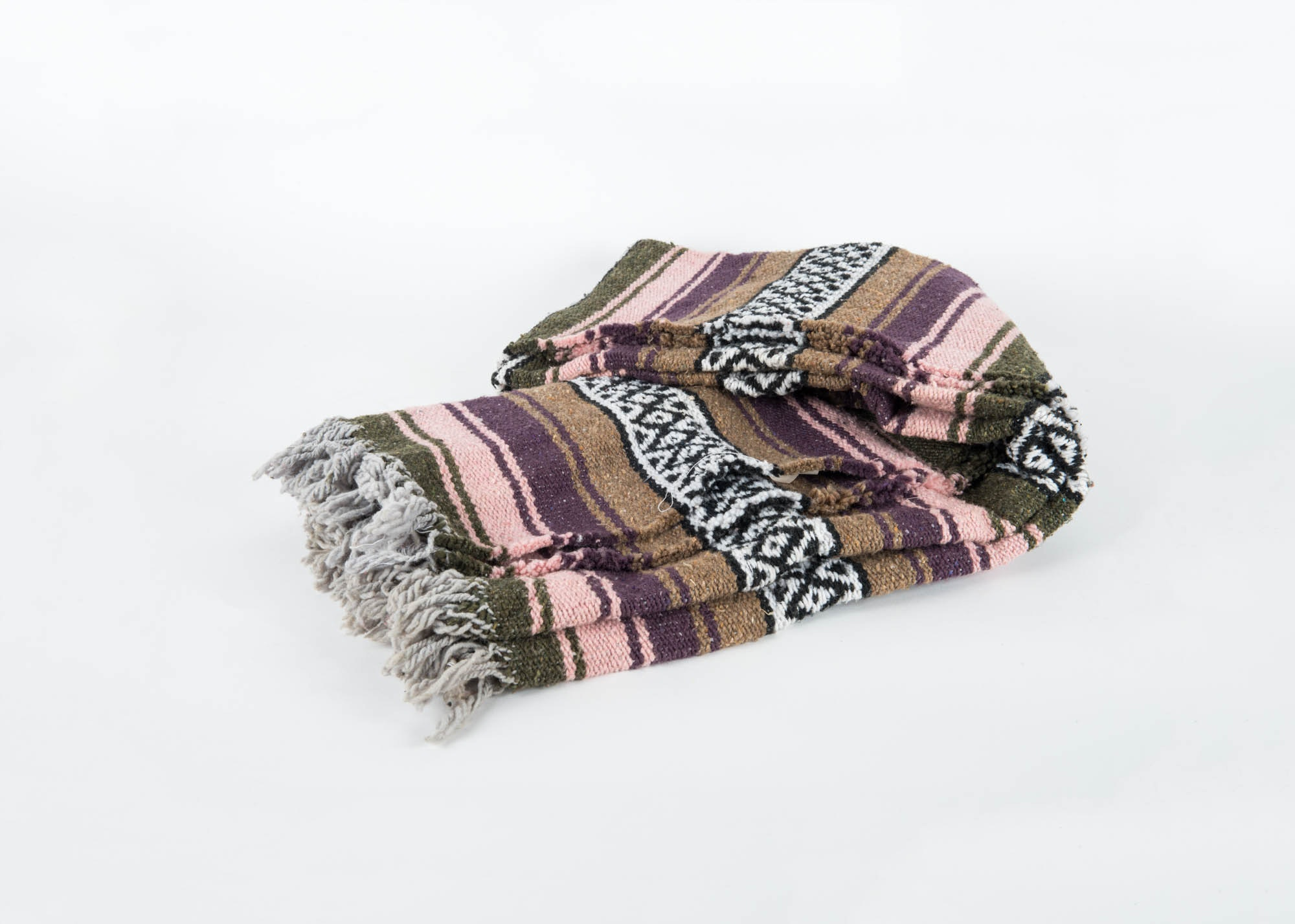 Mexican Indian Throw Blanket