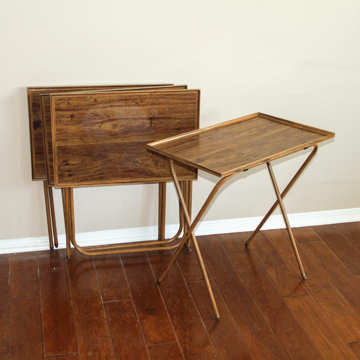 Vintage TV Tray Tables