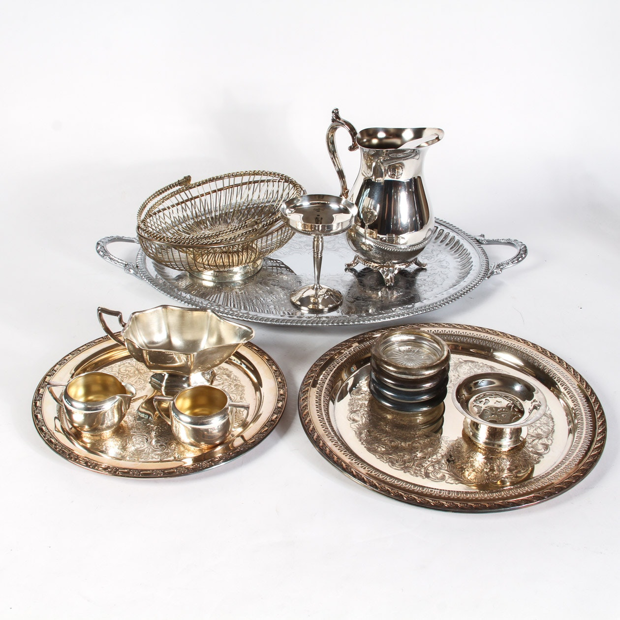 Collection of Silver Plated Dishwares