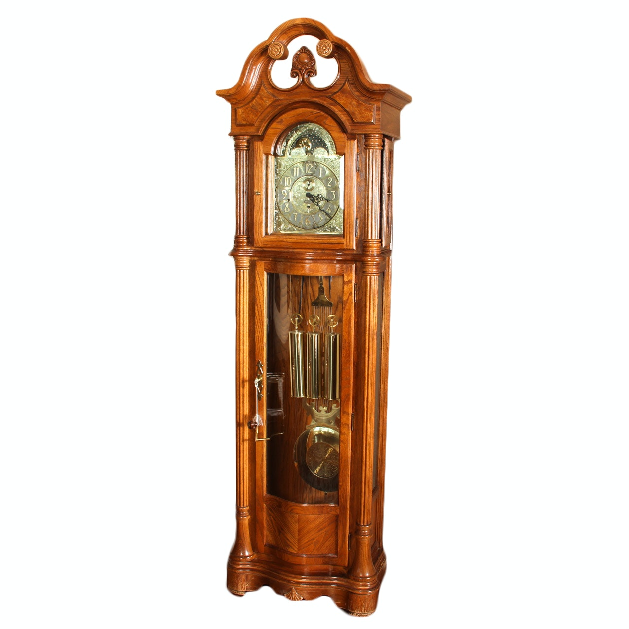Contemporary Grandfather Clock by Ridgeway