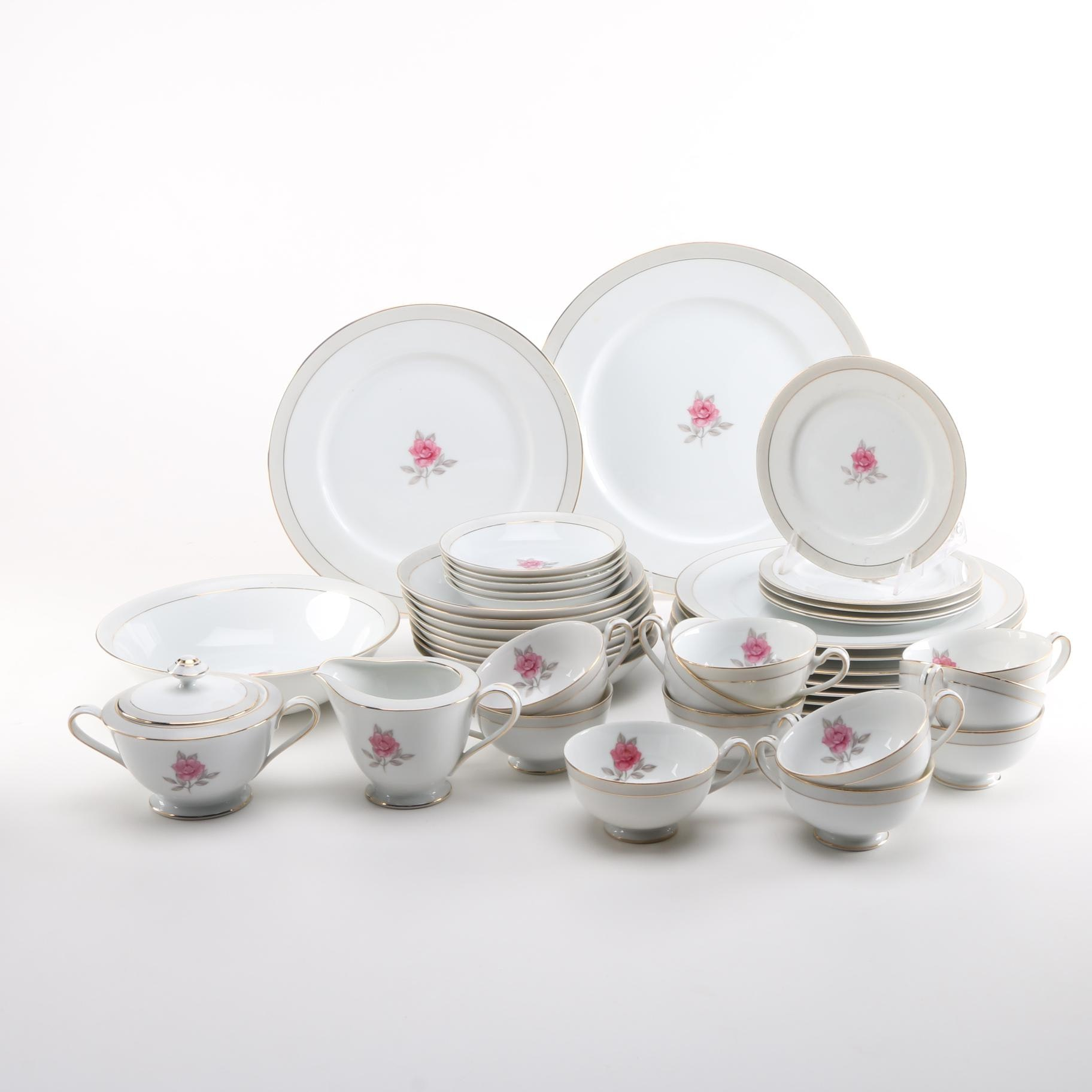"Royal M ""Solitaire"" Bone China"