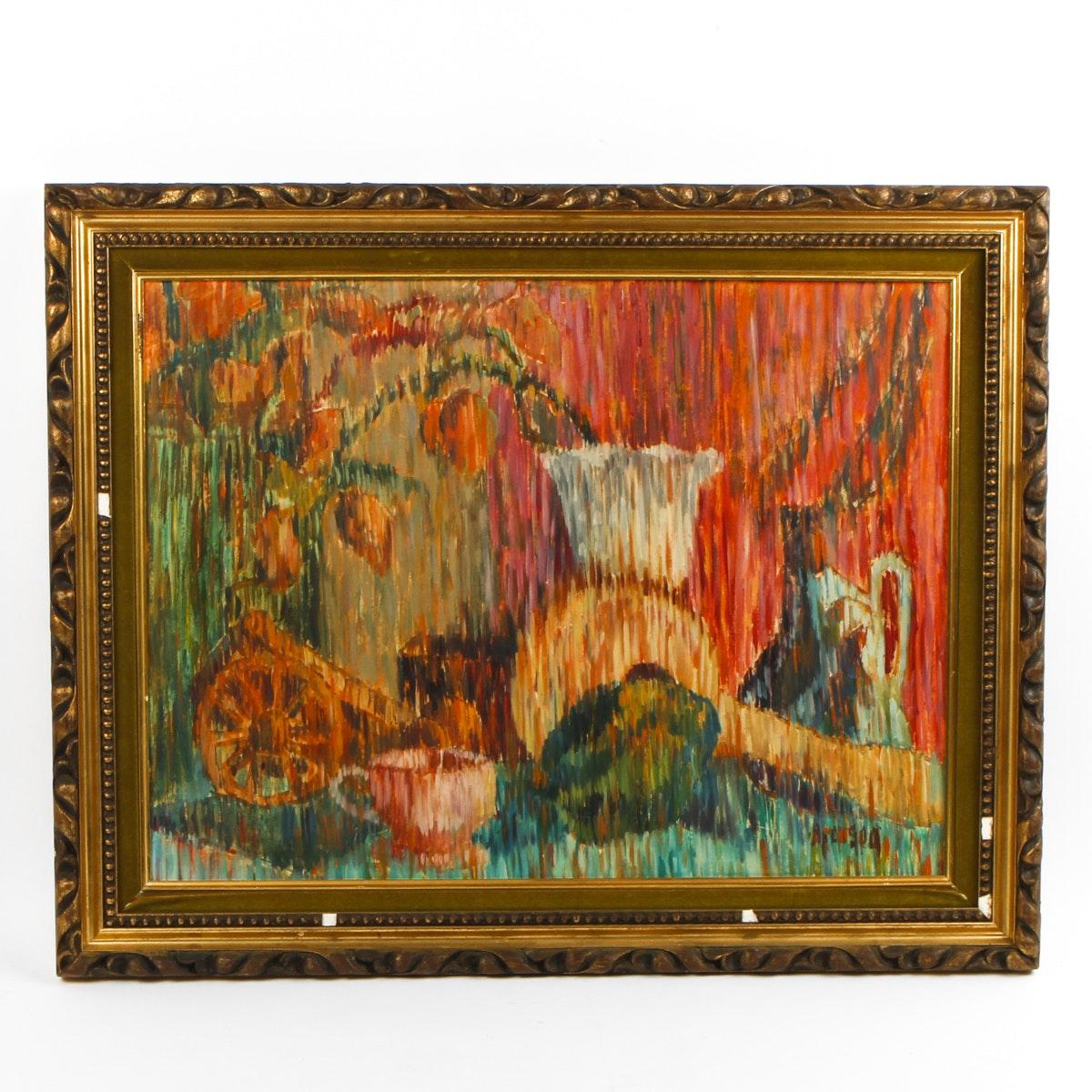 Framed Abstract Still Life