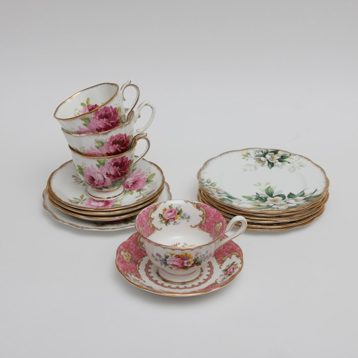 Royal Albert Bone China Cups and Saucers