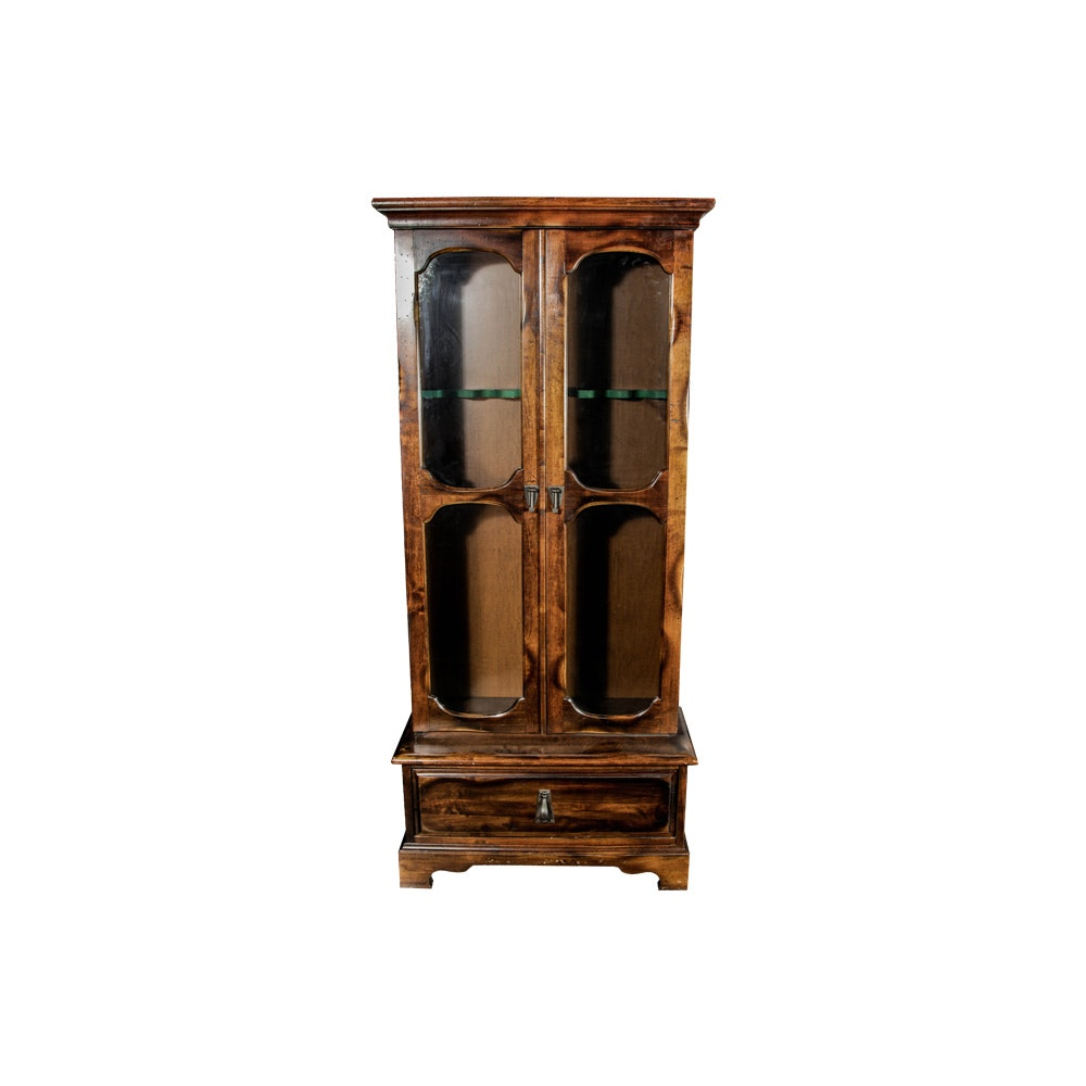 Vintage Gun Display Cabinet ...