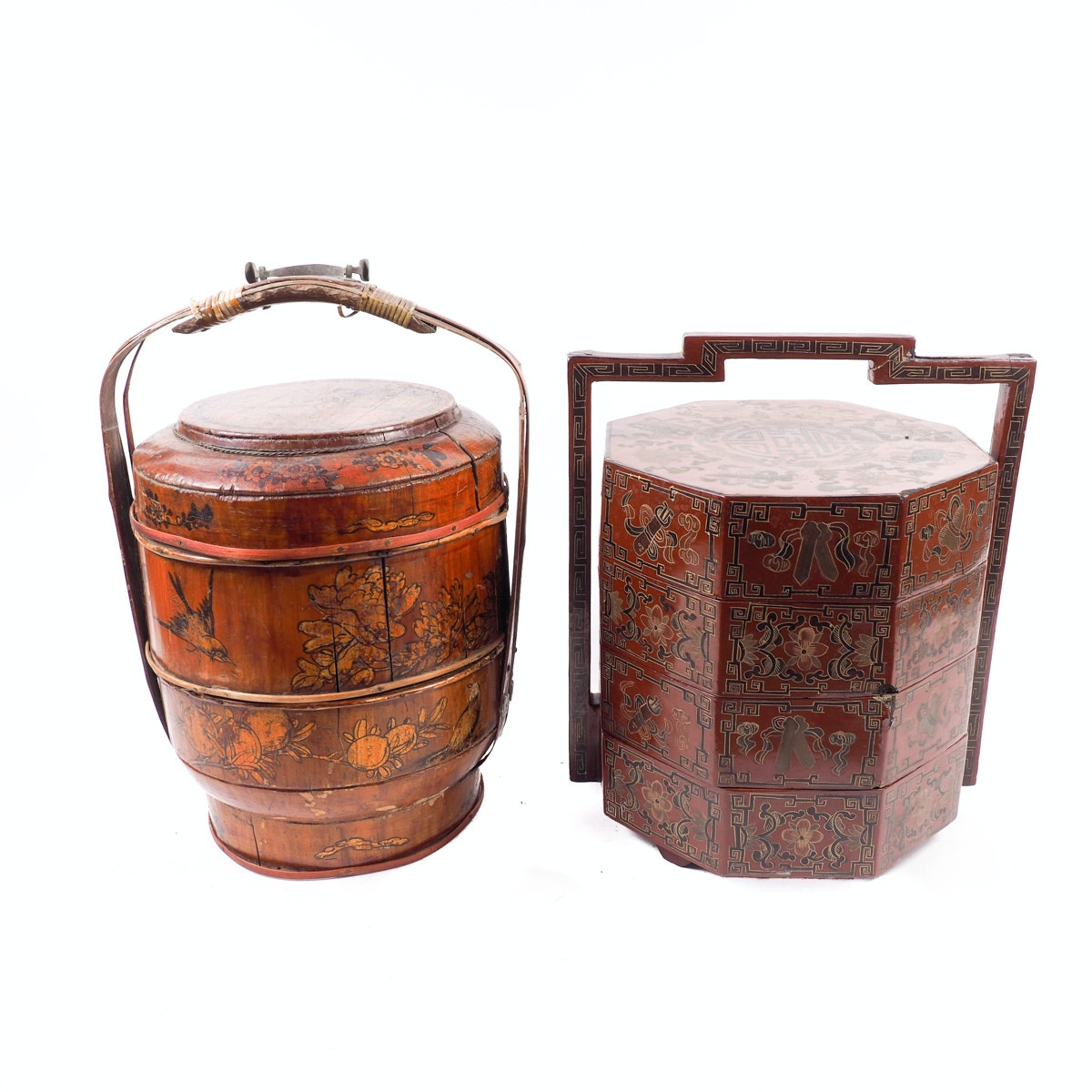 Vintage Chinese Wedding Baskets