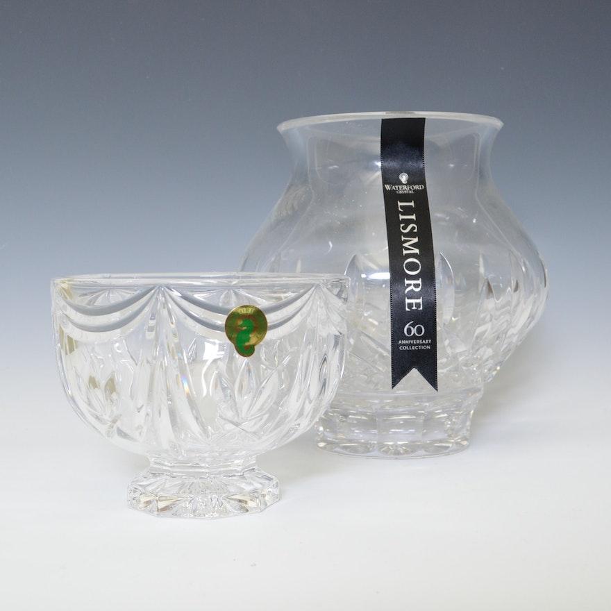 Waterford Lismore Vase And Variety Bowl Ebth