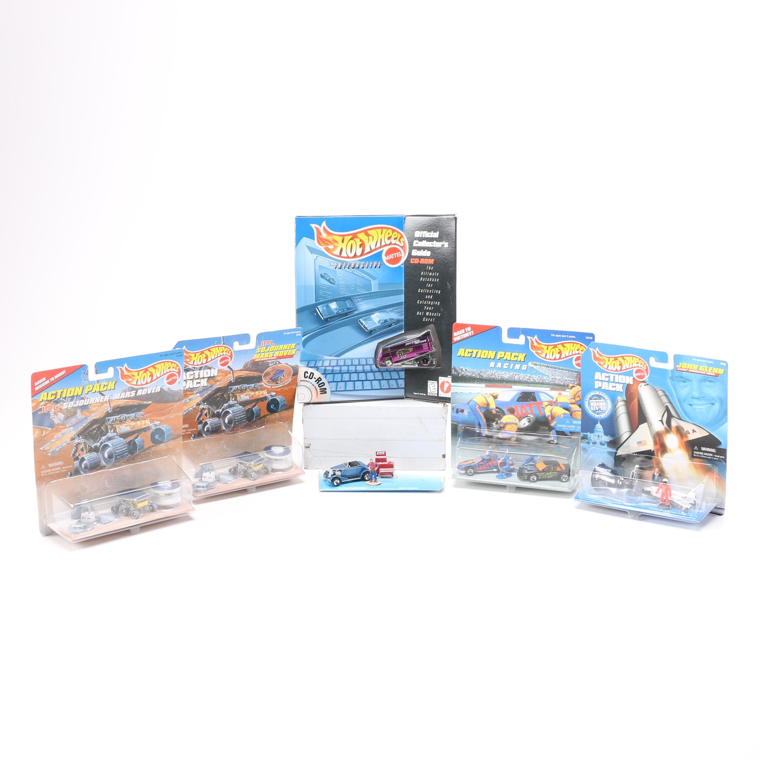 Hot Wheels Action Packs