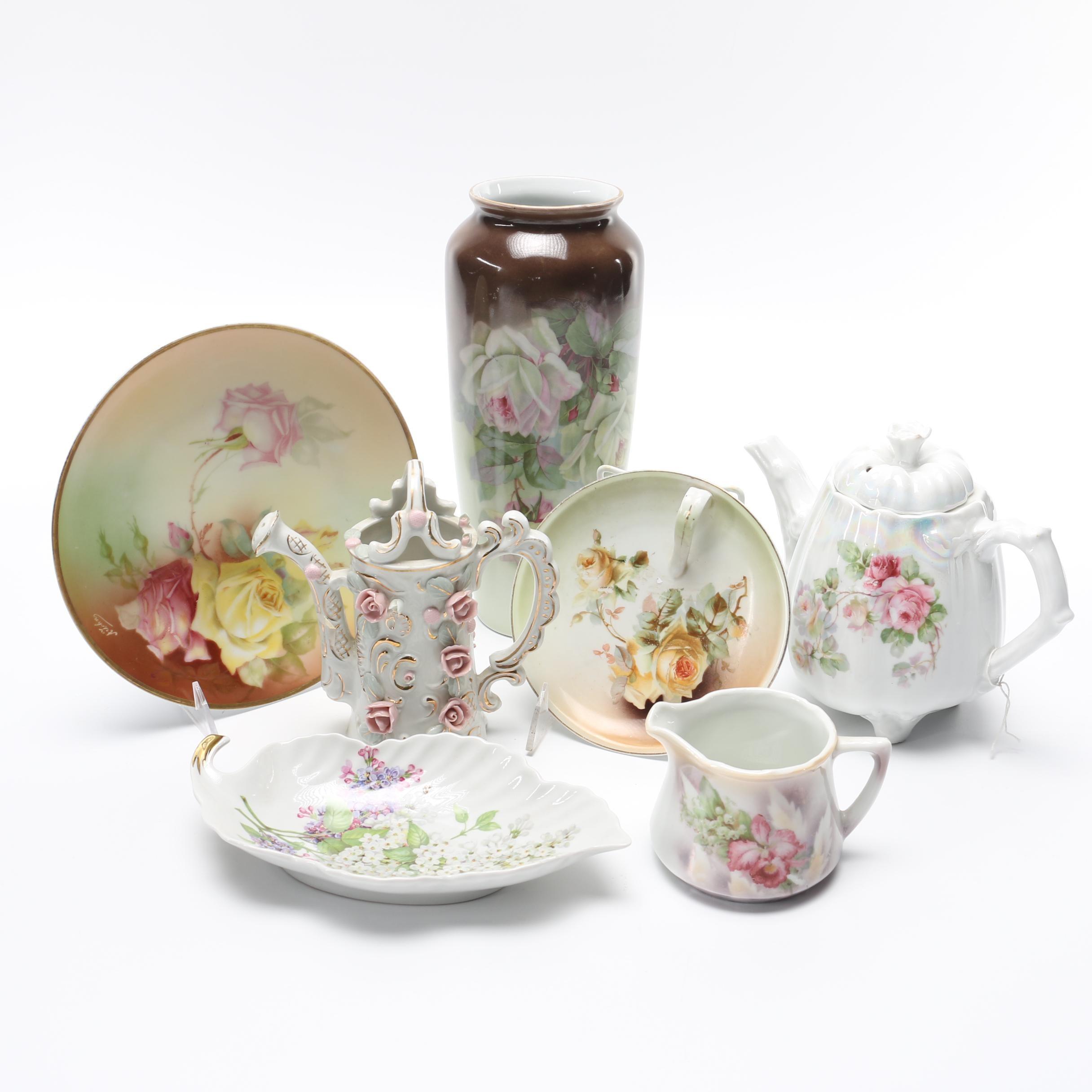 Floral Porcelain