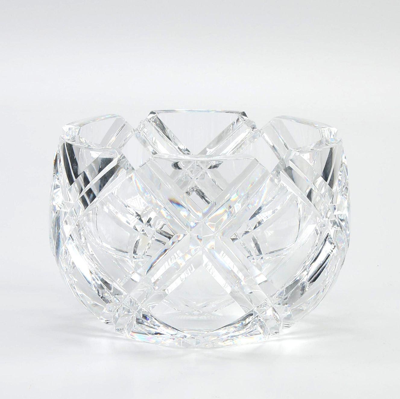 "Orrefors Crystal ""Sofiero"" Bowl"