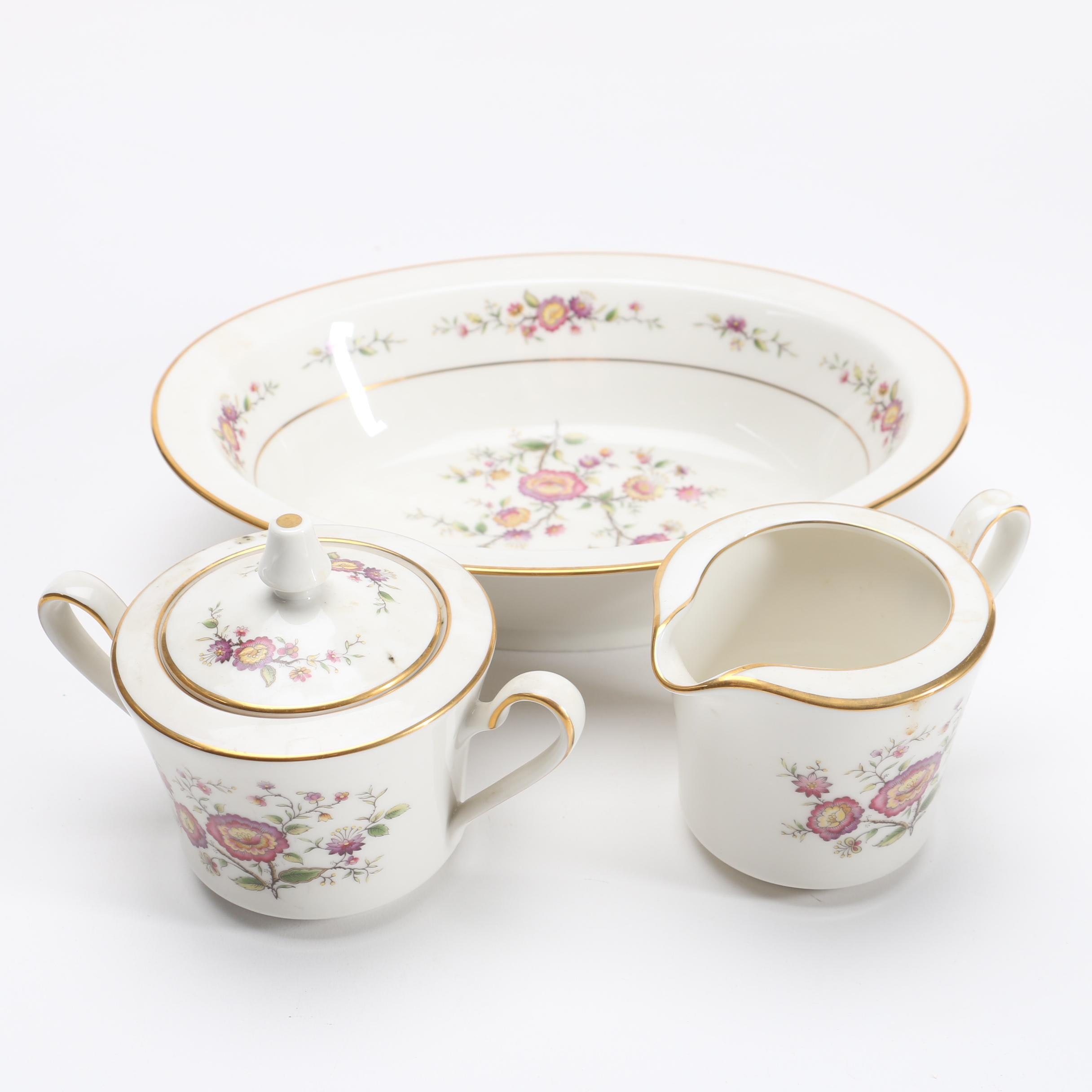 "Noritake ""Asian Song"" Serving Set"