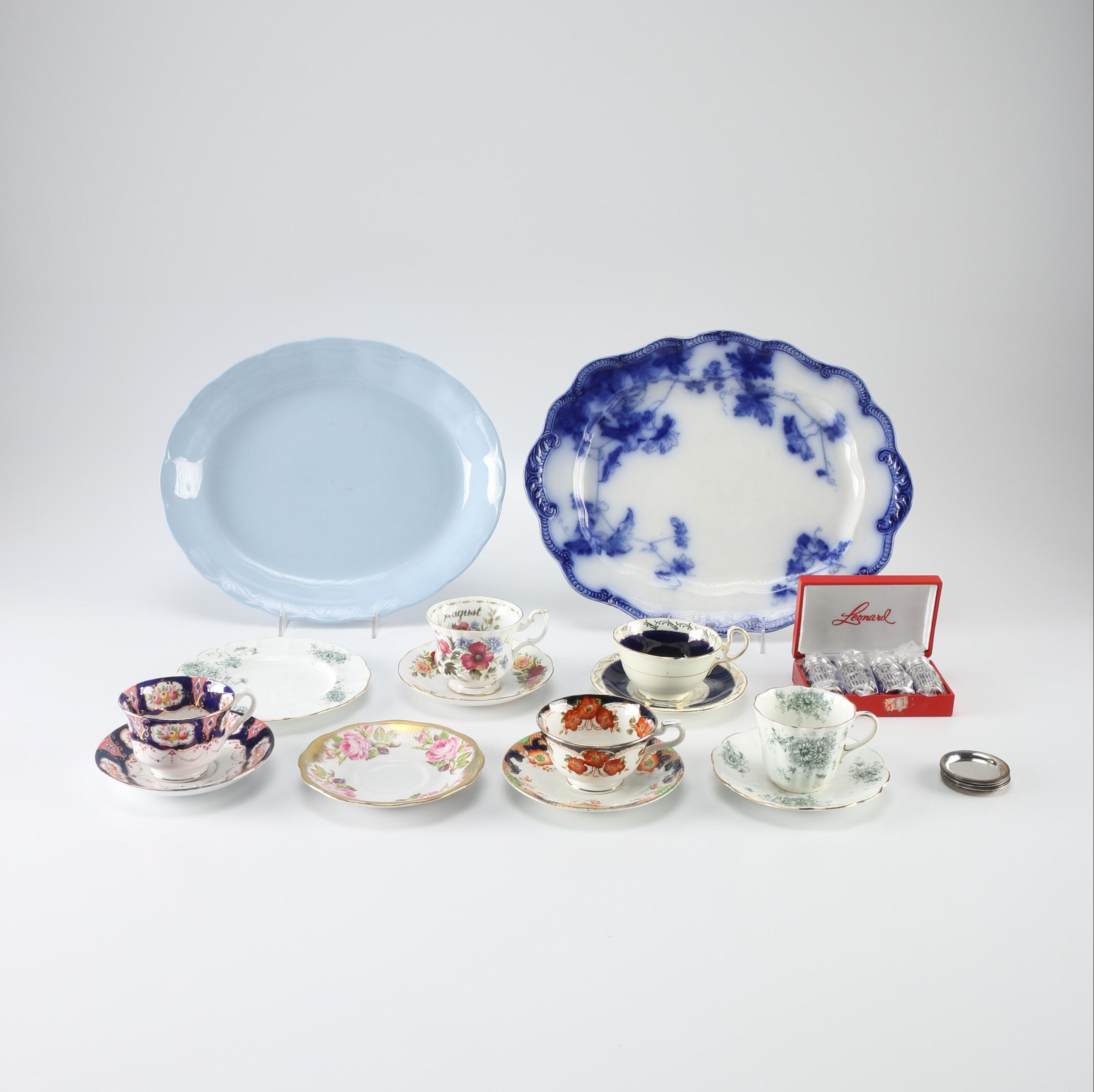 English Chinaware Including Ridgway and Aynsley