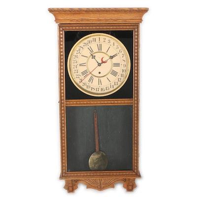dating antique wall clocks