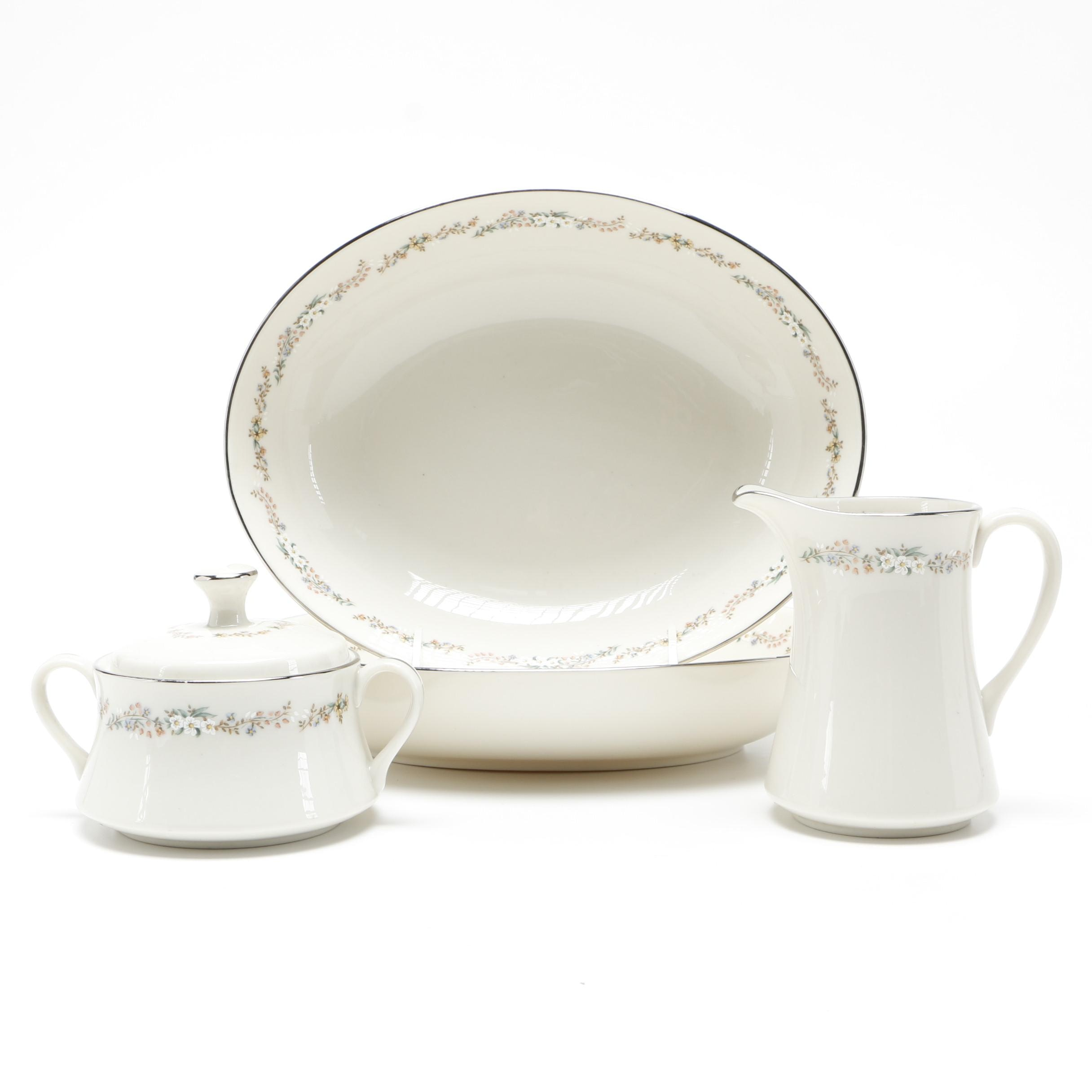"Gorham Fine China ""Rondelle"" Serving Set"