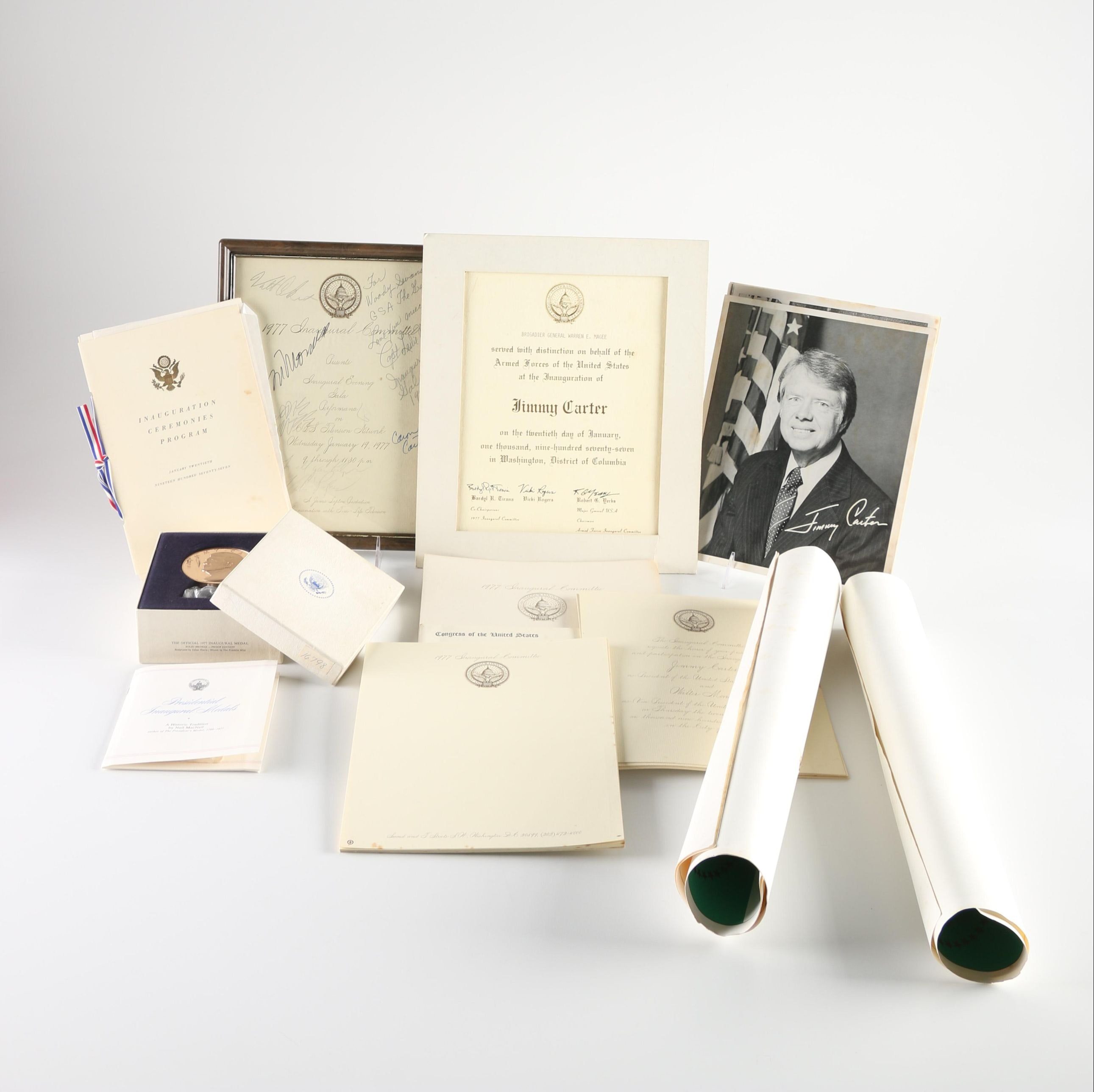 Collection Of 1977 Inauguration Material