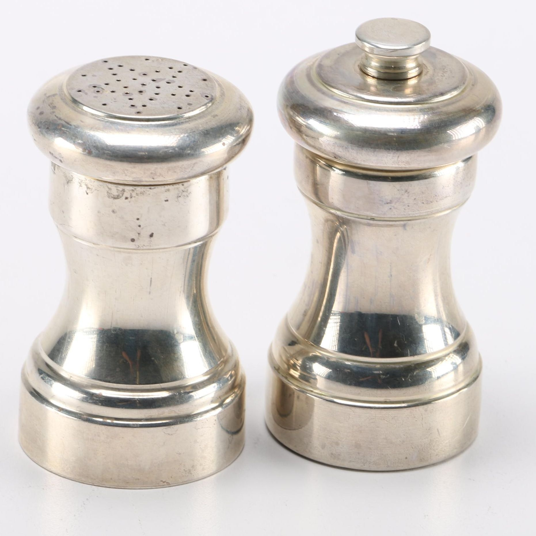 Tiffany & Co. Sterling Silver Salt Shaker and Pepper Grinder