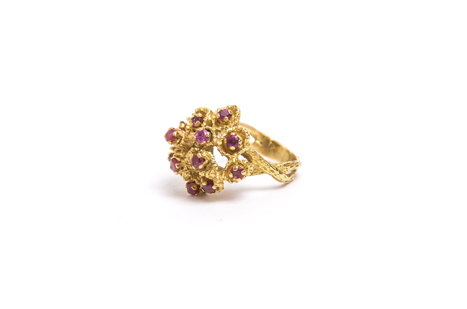 18K Gold and Ruby Ring