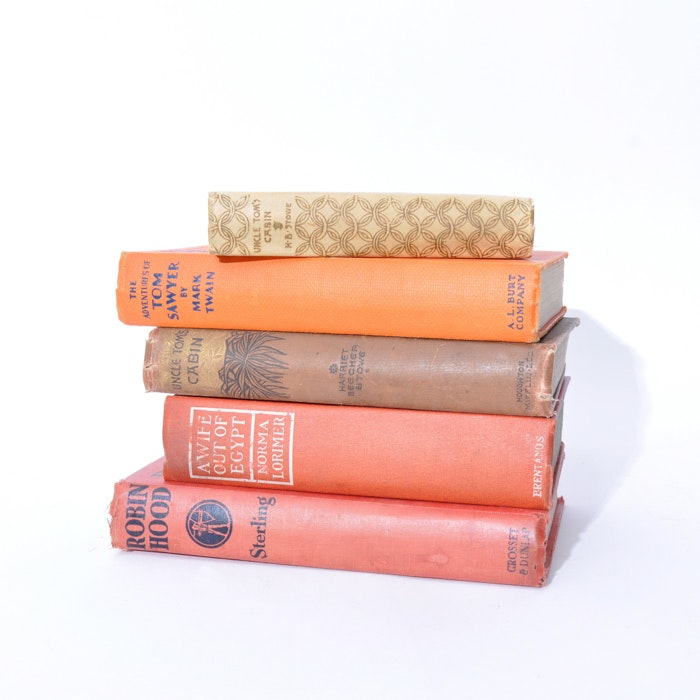 Grouping of Vintage Books