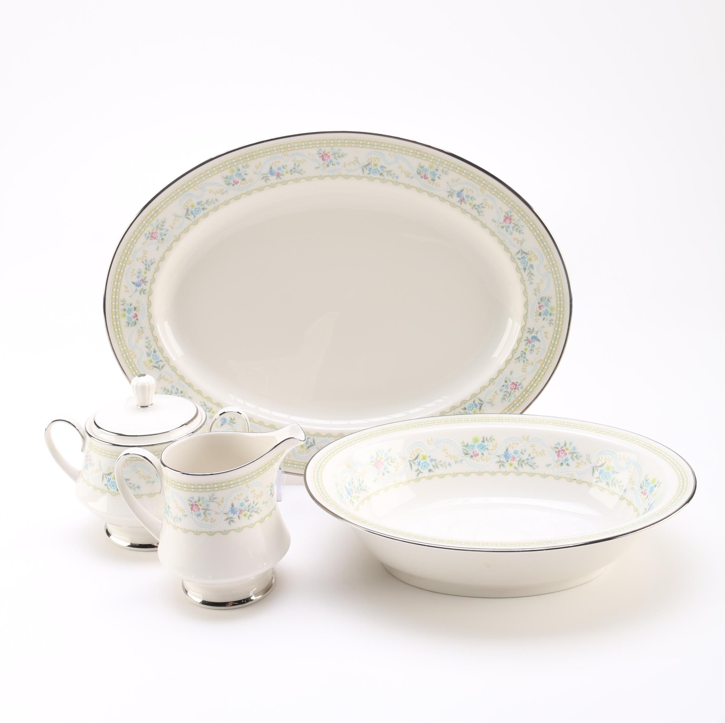 "Noritake ""Delight"" Serving Pieces"