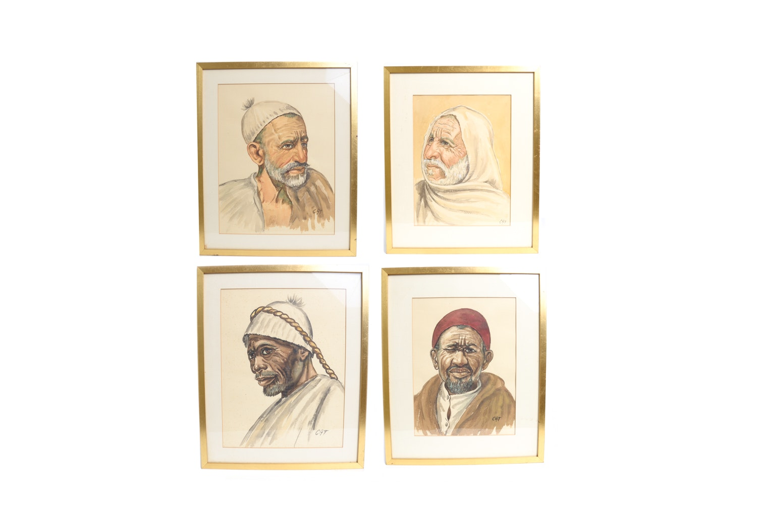 Series of Watercolor Portraits