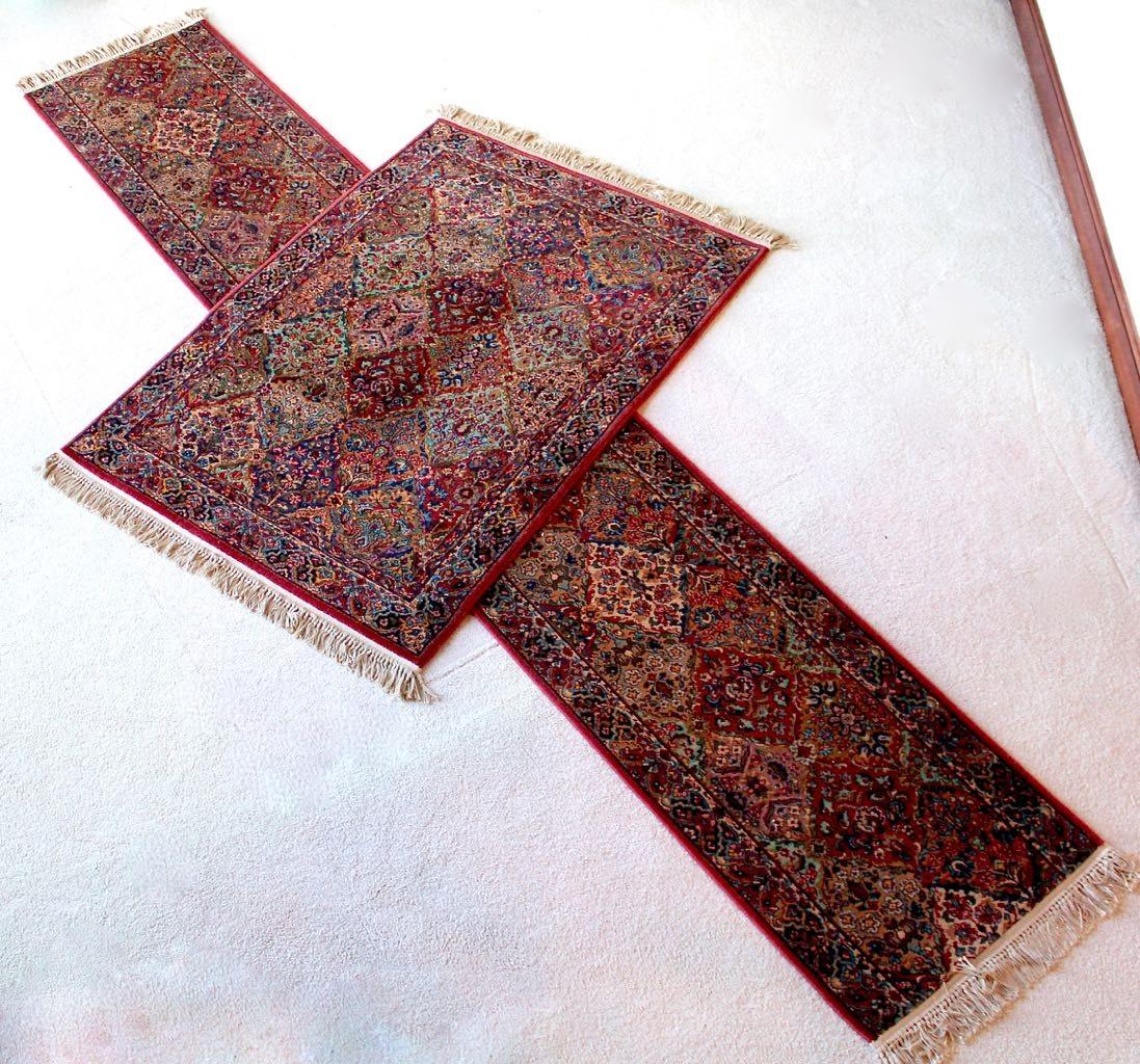 "Karastan ""Kirman"" Power-Loomed Wool Area Rug and Carpet Runner"