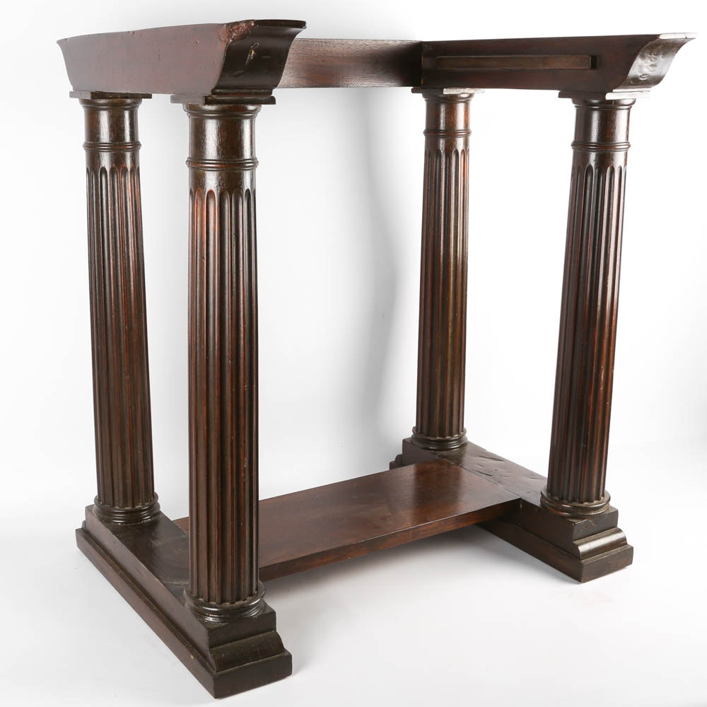 Classical Style Side Table Base