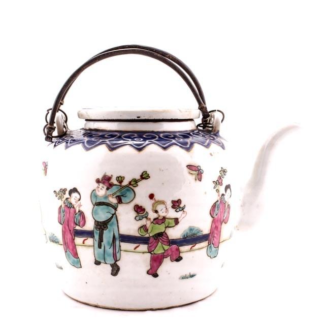 Chinese Republic Period Teapot with Guangxu Mark